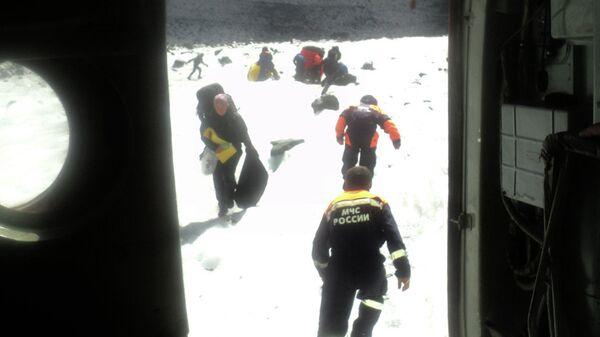 Турист из Москвы погиб при восхождении на ледник в Горном Алтае