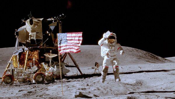 Астронавт Джон Янг. Архивное фото