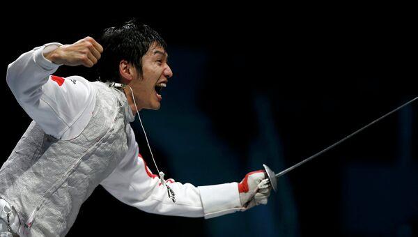 Китайский рапирист Лэй Шен завоевал золото Олимпиады в Лондоне