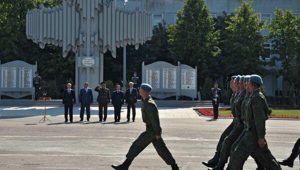 В.Путин посетил 31-ю десантно-штурмовую бригаду в Ульяновске