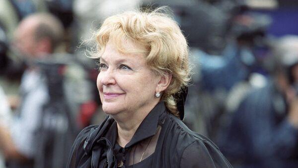 Актриса Ирина Скобцева