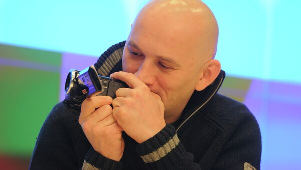Александр Расторгуев на показе фильма «Я тебя не люблю». Архивное фото