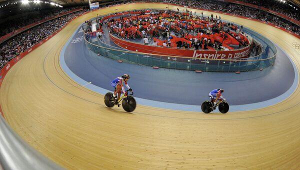 Велоспорт. Трек. Аохивное фото