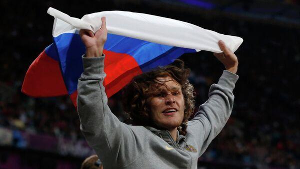 Россиянин Иван Ухов завоевал золото Олимпиады-2012 в прыжках в высоту