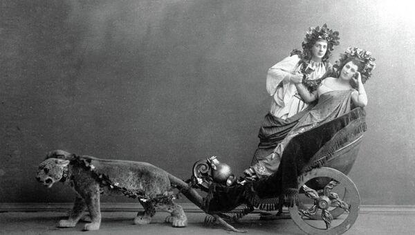 Матильда Кшесинская и Николай Солянников