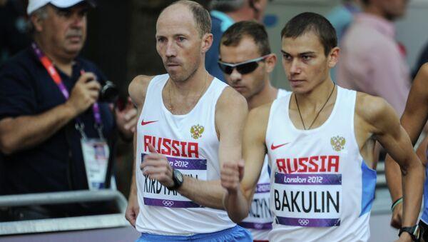 Российские спортсмены Сергей Кирдяпкин и Сергей Бакулин. Архивное фото