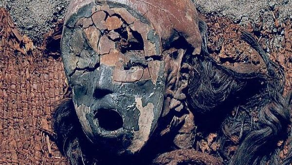 Индейцы чинчорро научились делать такие мумии благодаря благоприятному изменению климата 7 тысяч лет назад