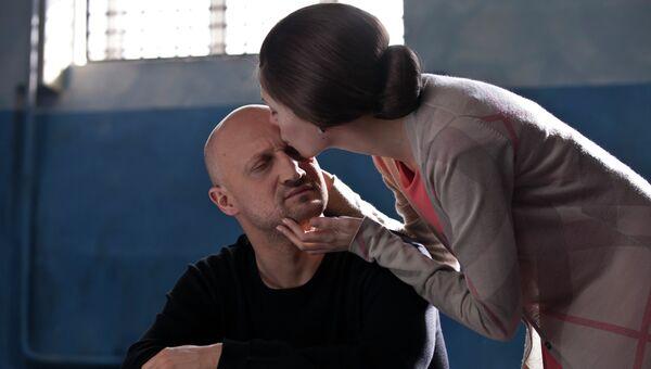 Кадр из фильма Разговор, режиссер Сергей Комаров
