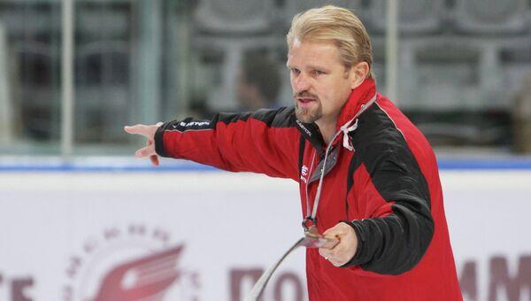 Новый тренер ХК Слована Матикайнен Петри. Архивное фото