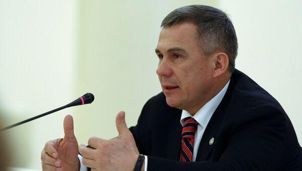 Президент Татарстана Рустам Минниханов. Архивное фото