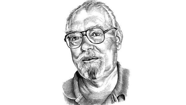 Писатель-фантаст Гарри Гаррисон