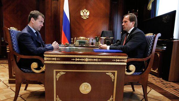 Встреча Д.Медведева и Л.Кузнецова