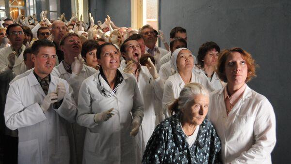 Кадр из фильма Доктор, режиссер Владимир Панков