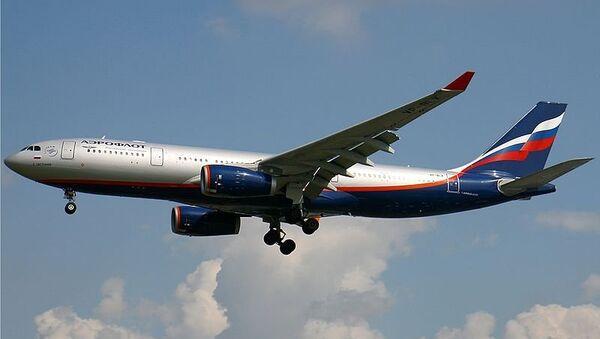 Самолет Airbus A330-200 компании Aeroflot. Архив