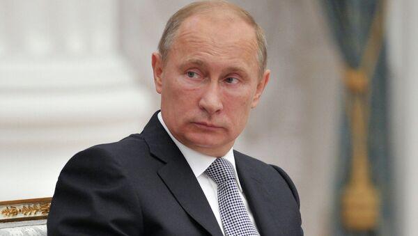 Встреча В.Путина с уполномоченными по правам человека в субъектах РФ