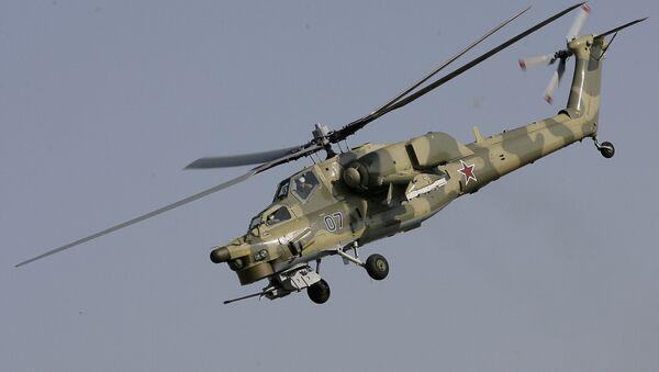 Боевой вертолет нового поколения Ми-28Н. Архив