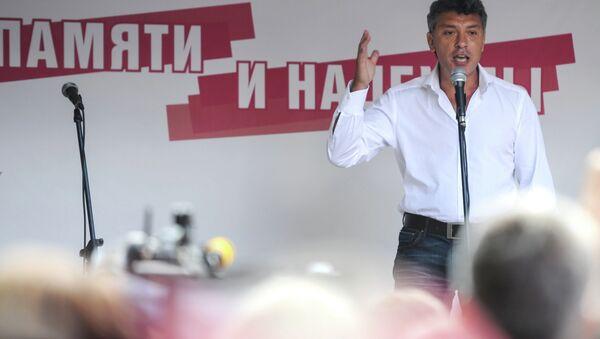 Борис Немцов. Архивное фото
