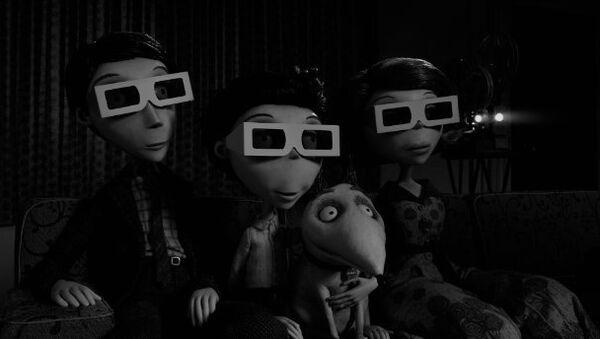 Кадр из мультфильма Франкенвини (2012)