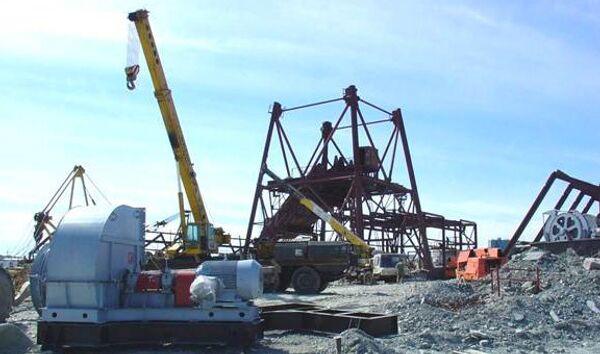 Строительство рудника