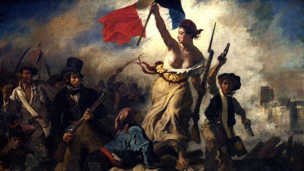 Эжен Делакруа. Свобода на баррикадах, 1830 год, Лувр