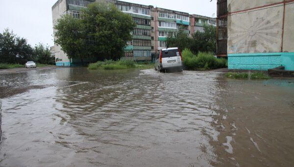 Последствия тайфуна Болавен в Арсеньеве и Ливадии