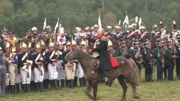 Штыковые атаки и кавалерийские бои в реконструкции битвы при Бородино