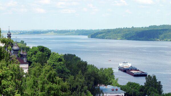 Река Волга, г. Плес. Архивное фото