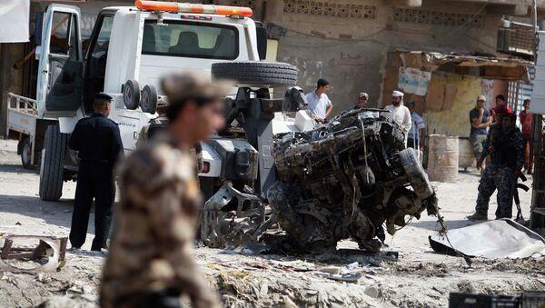 Взрыв в Басре 9 сентября 2012