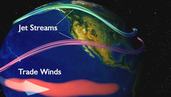 Принцип действия климатического феномена Эль-Ниньо. Архивное фото