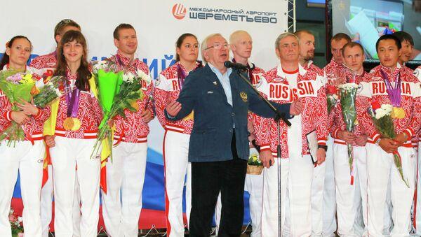 Встреча сборной России с XIV Паралимпийский летних игр 2012