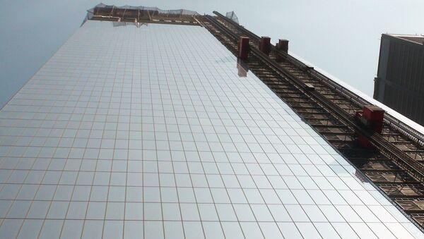Башня ВТЦ-4 Всемирного торгового центра в Нью-Йорке