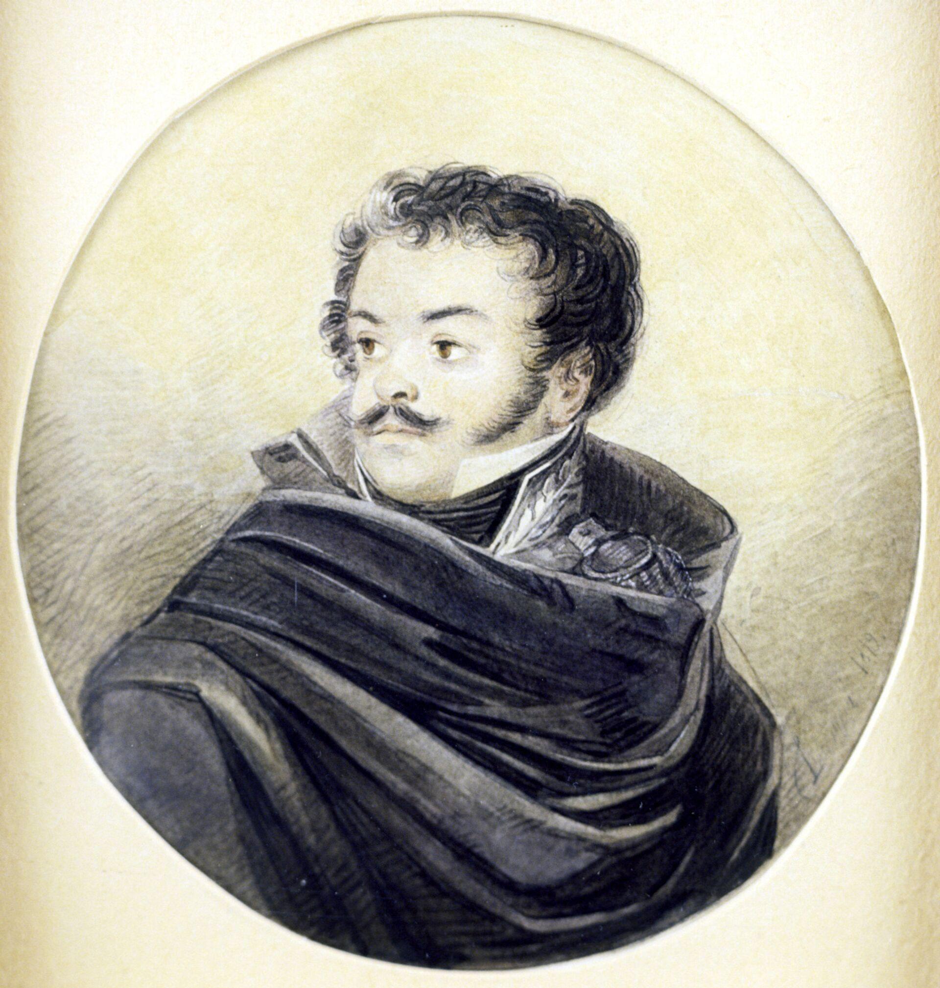 Портрет Д.В.Давыдова - РИА Новости, 1920, 30.05.2021