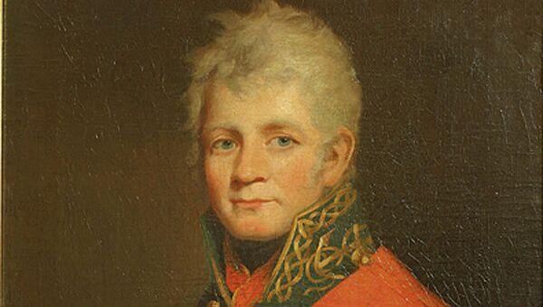 Портрет Павла Васильевича Чичагова. Неизвестный художник