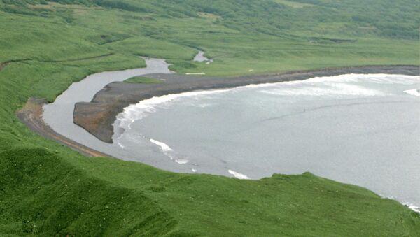 Курильские острова, остров Кунашир. Архивное фото