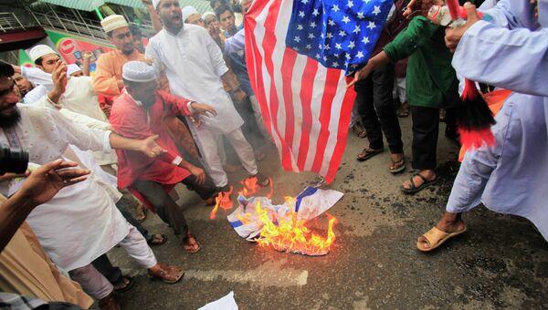 Акции против фильма Невиновность мусульман в Бангладеш