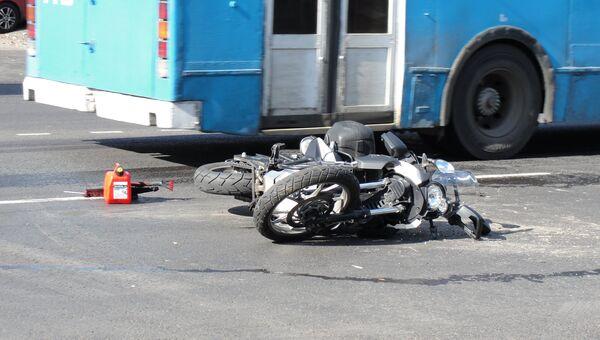 Москва мотоцикл ДТП ДПС пострадавшие