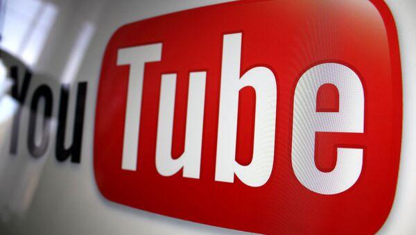 Логотип видеопортала YouTube. Архивное фото