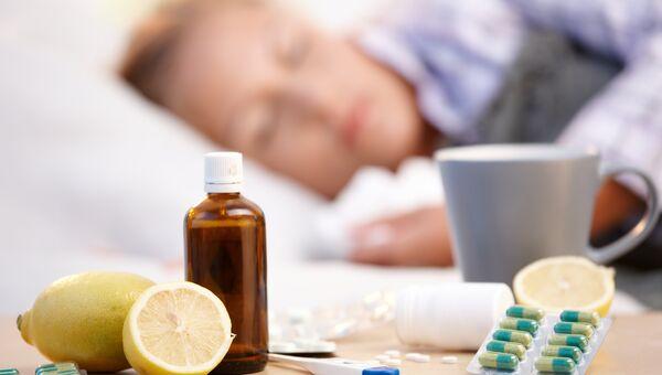 Лекарства, принимаемые во время гриппа и простуды
