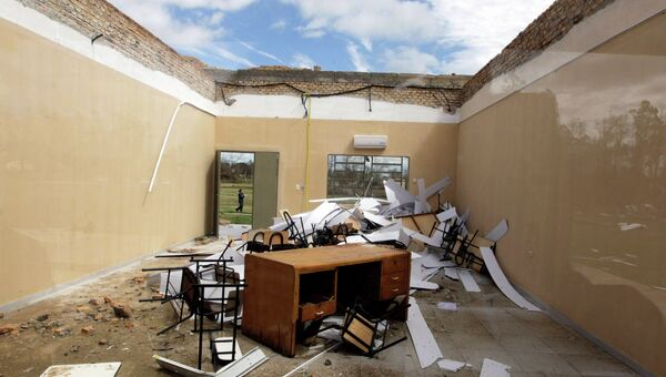 Последствия урагана в Парагвае