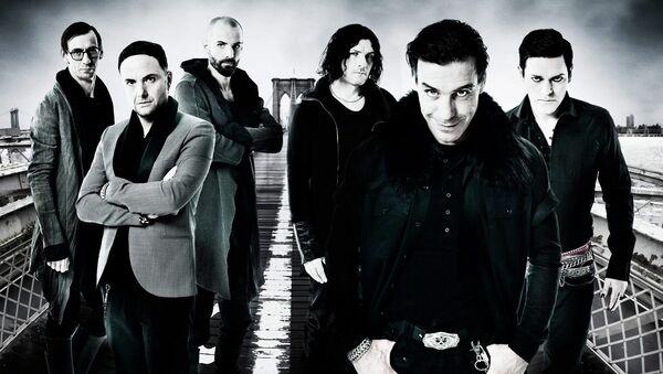 Немецкая группа Rammstein. Архивное фото