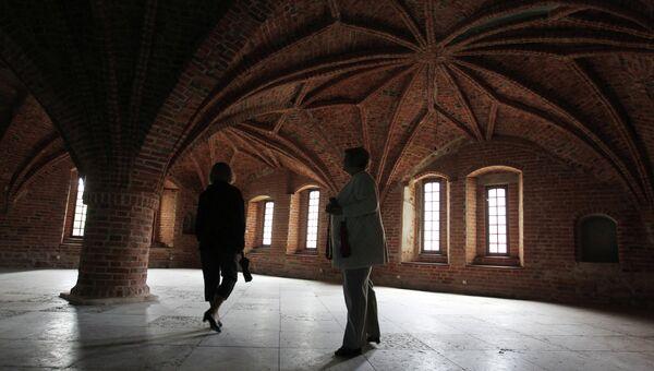 Завершение реставрации Владычной палаты Новгородского кремля