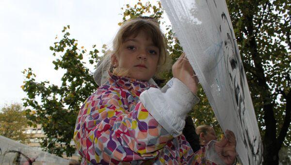 Перформанс Природотеrrапия в Тушинской детской больнице в Москве