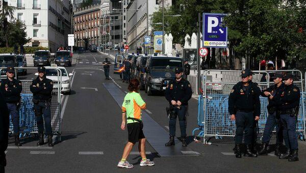 Усиление мер безопасности в Мадриде перед акцией протеста