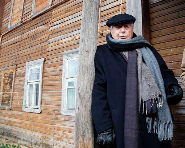 Визит Юрия Любимова в город Данилов Ярославской области