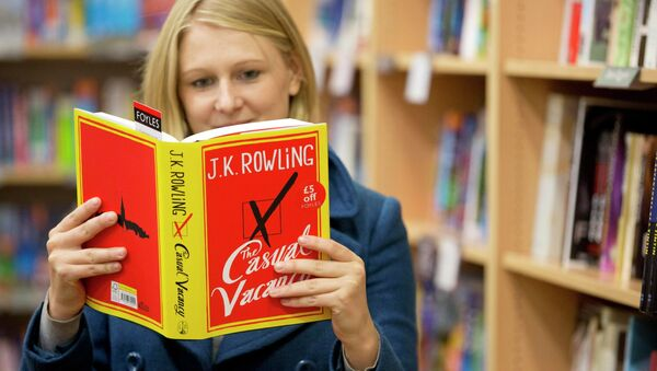 Новая книга Джоан Роулинг The Casual Vacancy