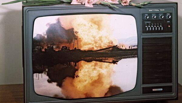 Цветной телевизор Витязь 722