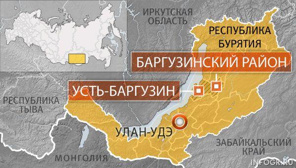 Поселок Усть-Баргузин Баргузинского района Бурятии