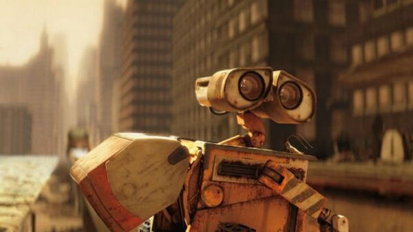 Кадр из мультфильма «ВАЛЛ-И»
