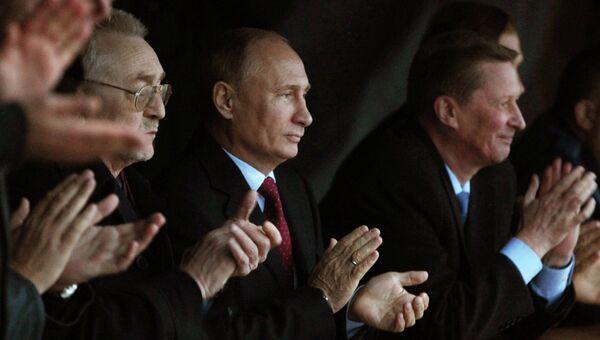 В.Путин посетил с рабочей поездкой Ульяновскую область