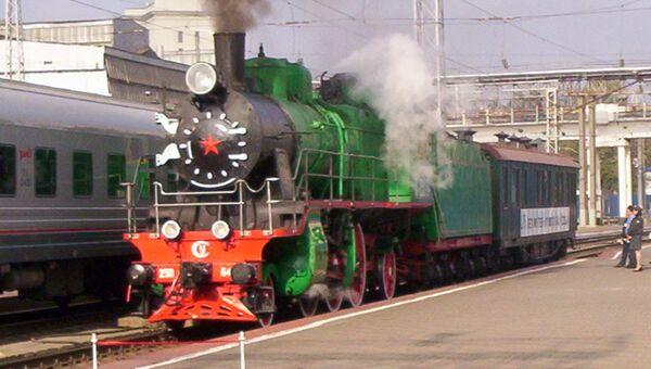 Парад железнодорожной техники прошел на СКЖД